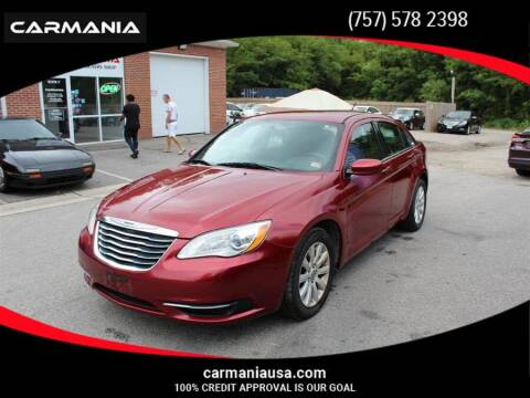 2014 Chrysler 200 for sale at CARMANIA LLC in Chesapeake VA