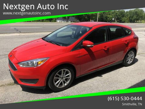 2016 Ford Focus for sale at Nextgen Auto Inc in Smithville TN