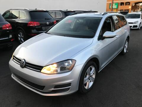2015 Volkswagen Golf SportWagen for sale at Shoppe Auto Plus in Westminster CA