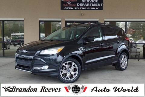2014 Ford Escape for sale at Brandon Reeves Auto World in Monroe NC