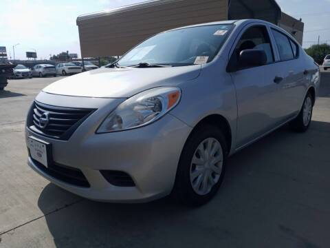 2014 Nissan Versa for sale at Auto Haus Imports in Grand Prairie TX