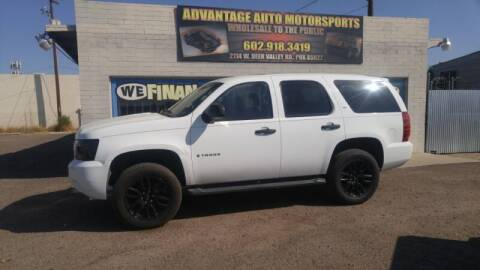 2008 Chevrolet Tahoe for sale at Advantage Auto Motorsports in Phoenix AZ