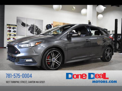 2015 Ford Focus for sale at DONE DEAL MOTORS in Canton MA