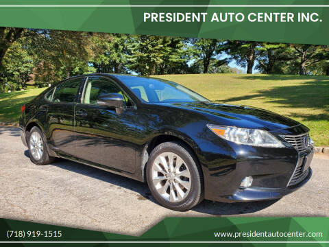2013 Lexus ES 300h for sale at President Auto Center Inc. in Brooklyn NY