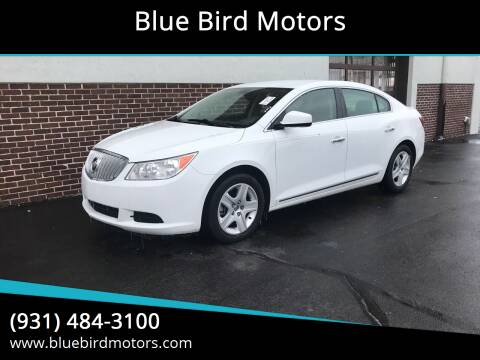 2011 Buick LaCrosse for sale at Blue Bird Motors in Crossville TN
