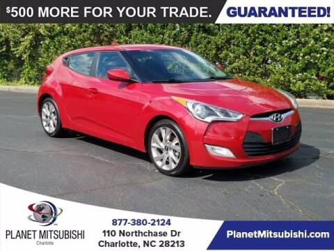 2017 Hyundai Veloster for sale at Planet Automotive Group in Charlotte NC
