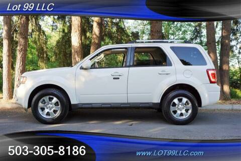 2012 Ford Escape for sale at LOT 99 LLC in Milwaukie OR