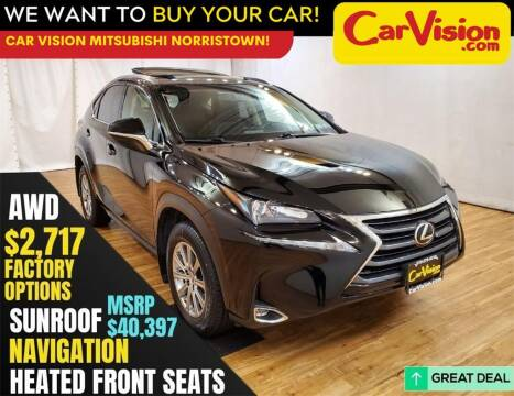 2017 Lexus NX 200t for sale at Car Vision Mitsubishi Norristown in Trooper PA