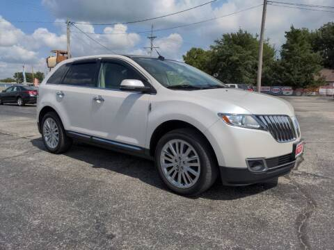 2015 Lincoln MKX for sale at Towell & Sons Auto Sales in Manila AR