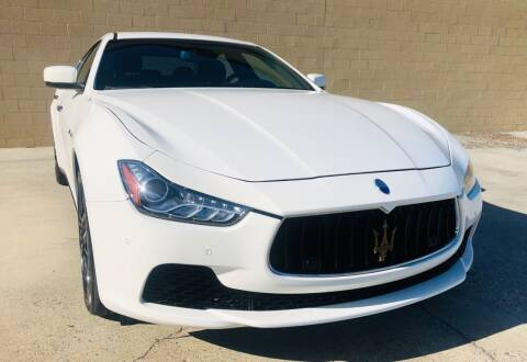 2014 Maserati Ghibli for sale at Auto Zoom 916 in Rancho Cordova CA