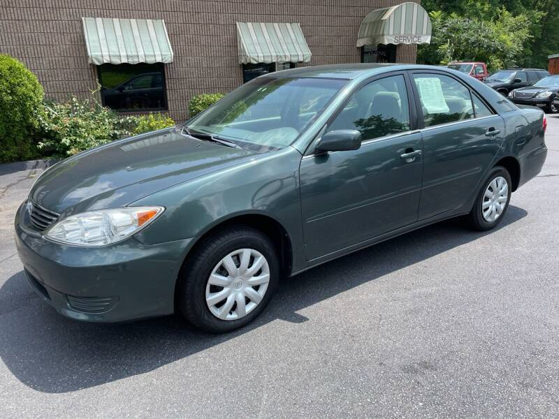 2005 Toyota Camry for sale at Depot Auto Sales Inc in Palmer MA