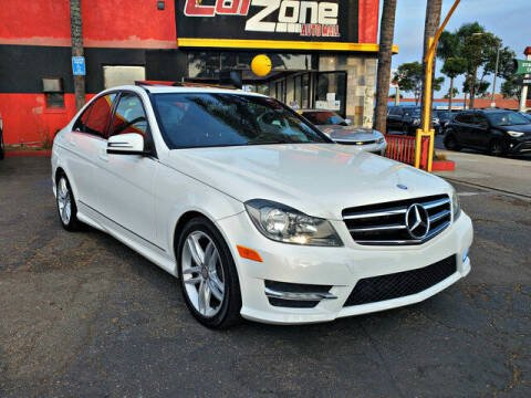 2014 Mercedes-Benz C-Class for sale at Carzone Automall in South Gate CA