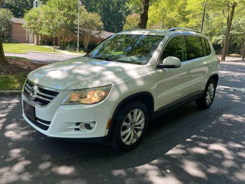 2011 Volkswagen Tiguan for sale at Bowie Motor Co in Bowie MD