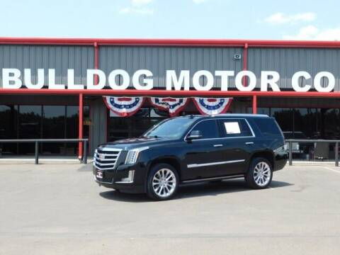 2019 Cadillac Escalade for sale at Bulldog Motor Company in Borger TX