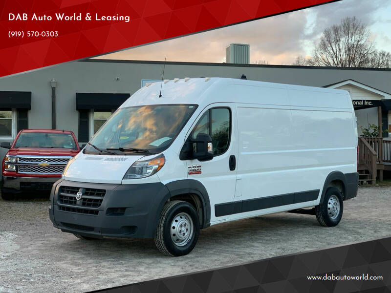 2017 RAM ProMaster Cargo for sale at DAB Auto World & Leasing in Wake Forest NC