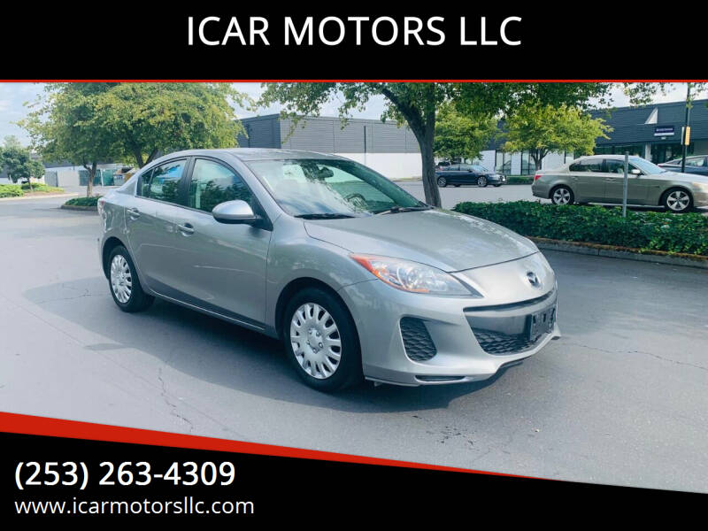 2013 Mazda MAZDA3 for sale at ICAR MOTORS LLC in Federal Way WA