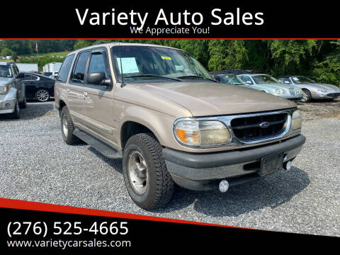 1998 Ford Explorer for sale at Variety Auto Sales in Abingdon VA