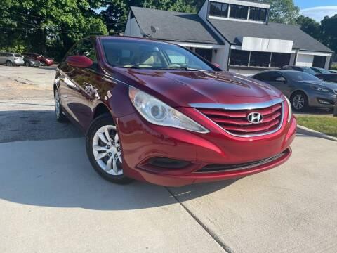 2012 Hyundai Sonata for sale at Alpha Car Land LLC in Snellville GA