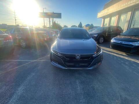 2019 Honda Accord for sale at Washington Auto Group in Waukegan IL