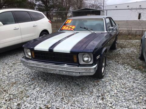 1976 Chevrolet Nova for sale at K & E Auto Sales in Ardmore AL