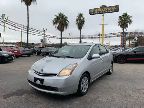 2007 Toyota Prius for sale at A MOTORS SALES AND FINANCE in San Antonio TX