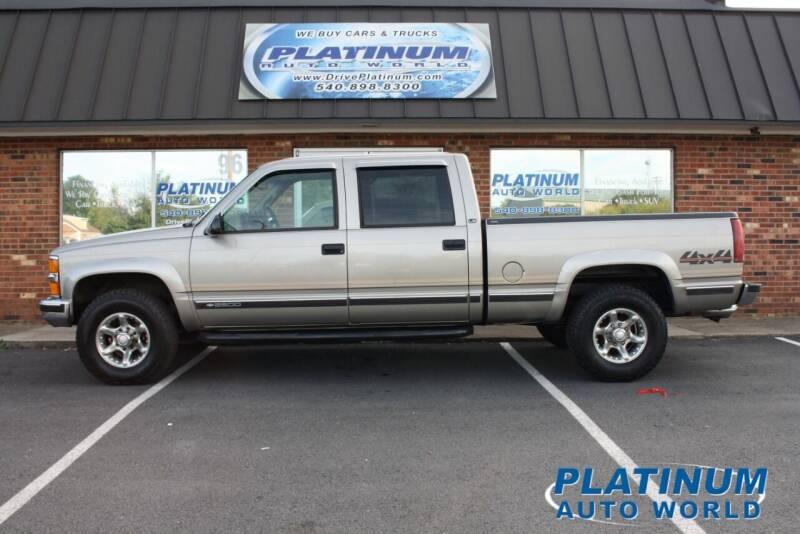 2000 Chevrolet C/K 2500 Series for sale at Platinum Auto World in Fredericksburg VA