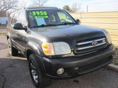 2001 Toyota Sequoia for sale at T & D Motor Company in Bethany OK