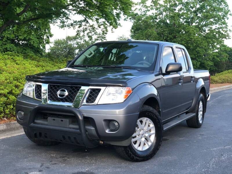 2017 Nissan Frontier for sale at William D Auto Sales in Norcross GA