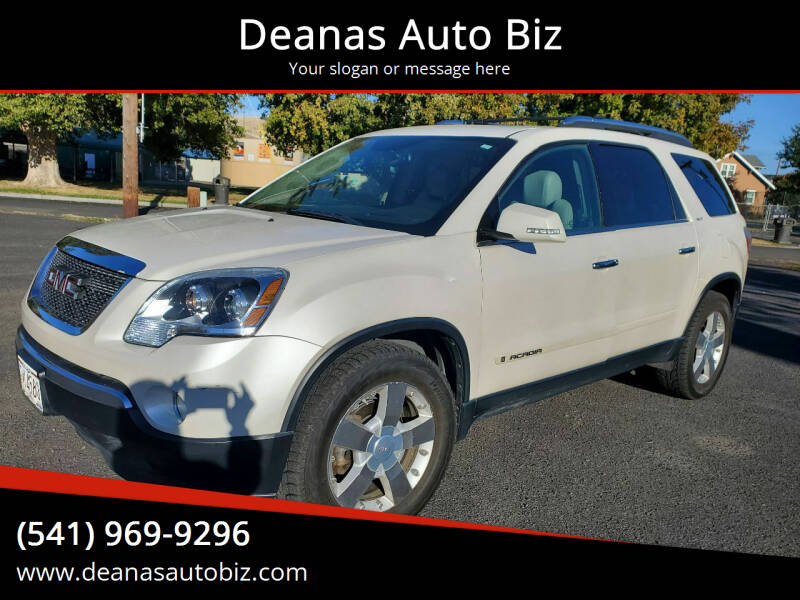2007 GMC Acadia for sale at Deanas Auto Biz in Pendleton OR