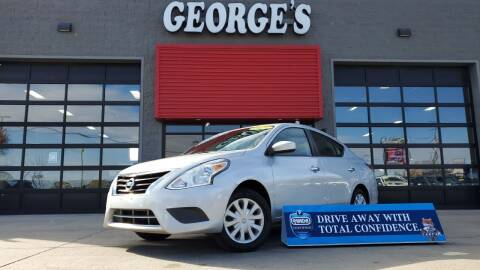 2017 Nissan Versa for sale at George's Used Cars - Pennsylvania & Allen in Brownstown MI