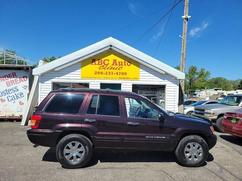 2004 Jeep Grand Cherokee for sale at ABC AUTO CLINIC - Chubbuck in Chubbuck ID