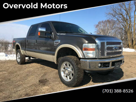 2008 Ford F-350 Super Duty for sale at Overvold Motors in Detriot Lakes MN