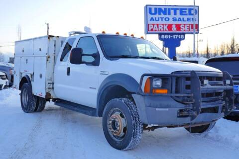 2006 Ford F-550 Super Duty for sale at United Auto Sales in Anchorage AK