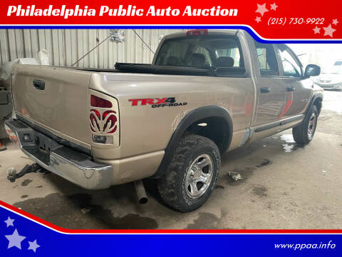 2004 Dodge Ram Pickup 1500 for sale at Philadelphia Public Auto Auction in Philadelphia PA