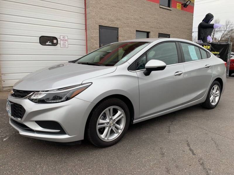 2017 Chevrolet Cruze for sale at MIDWEST CAR SEARCH in Fridley MN