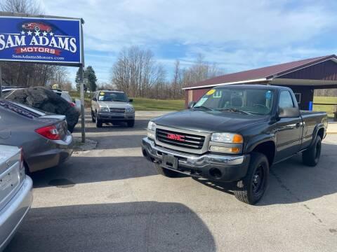 2005 GMC Sierra 1500 for sale at Sam Adams Motors in Cedar Springs MI