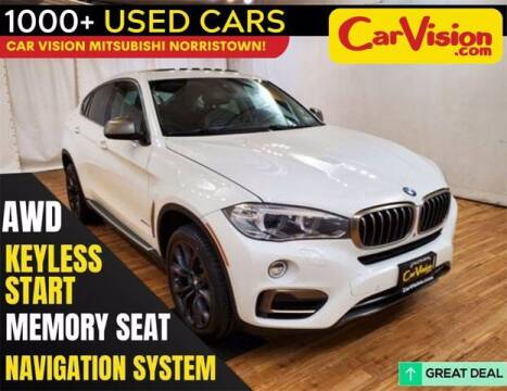 2016 BMW X6 for sale at Car Vision Buying Center in Norristown PA