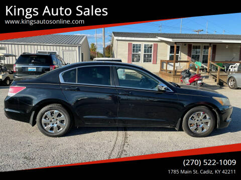 2008 Honda Accord for sale at Kings Auto Sales in Cadiz KY