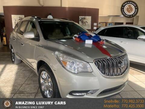 2014 Buick Enclave for sale at Amazing Luxury Cars in Snellville GA