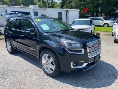 2016 GMC Acadia for sale at AutoStar Norcross in Norcross GA