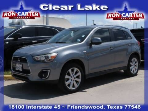 2013 Mitsubishi Outlander Sport for sale at Ron Carter  Clear Lake Used Cars in Houston TX