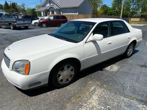 2005 Cadillac DeVille for sale at Huggins Auto Sales in Ottawa OH