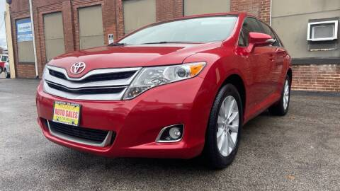 2015 Toyota Venza for sale at Rocky's Auto Sales in Worcester MA