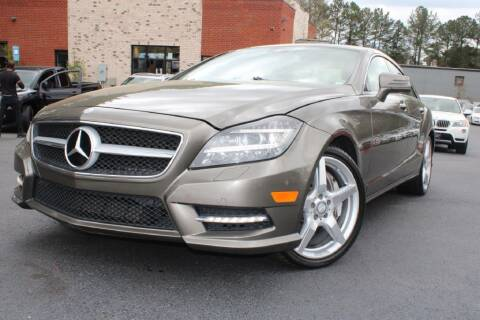2013 Mercedes-Benz CLS for sale at Atlanta Unique Auto Sales in Norcross GA