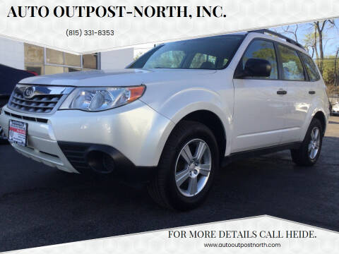 2011 Subaru Forester for sale at Auto Outpost-North, Inc. in McHenry IL