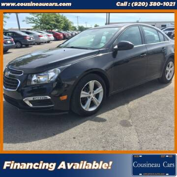 2015 Chevrolet Cruze for sale at CousineauCars.com in Appleton WI