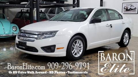 2011 Ford Fusion for sale at Baron Elite in Upland CA
