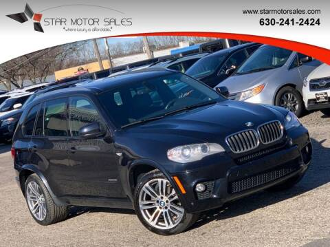 2012 BMW X5 for sale at Star Motor Sales in Downers Grove IL