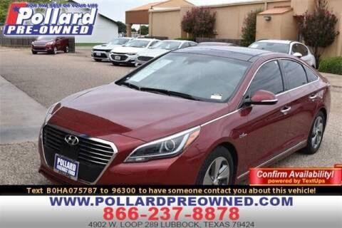 2017 Hyundai Sonata Hybrid for sale at South Plains Autoplex by RANDY BUCHANAN in Lubbock TX