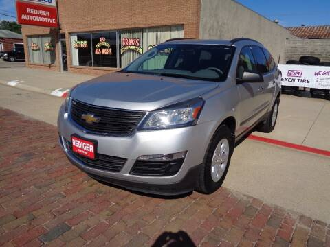 2015 Chevrolet Traverse for sale at Rediger Automotive in Milford NE